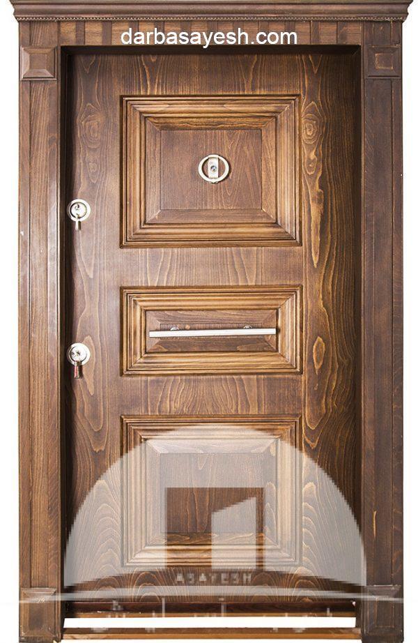 درب مدل سه قاب برجسته لوکس