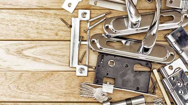 انواع قفل درب - معرفی انواع قفل درب