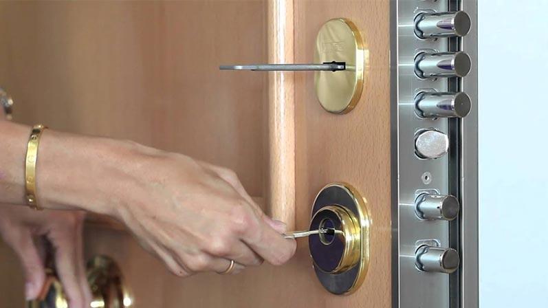 قطعات یک قفل درب - انواع قفل درب