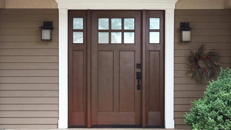 درب فایبرگلاس - انواع درب