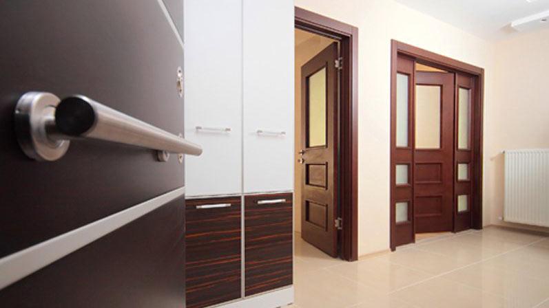 درب صاف (مسطح) - انواع درب