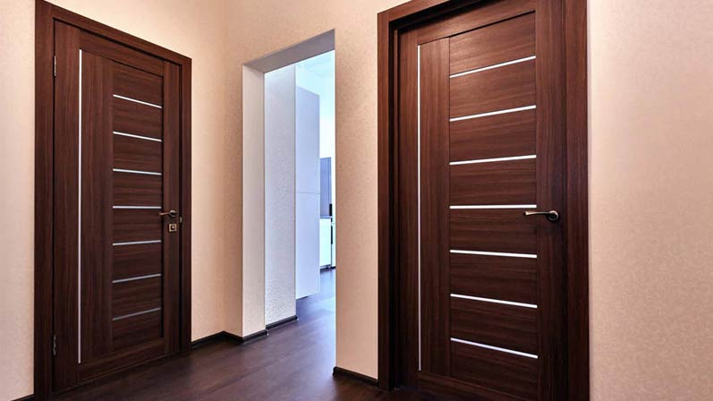 درب پی وی سی (PVC) - انواع درب