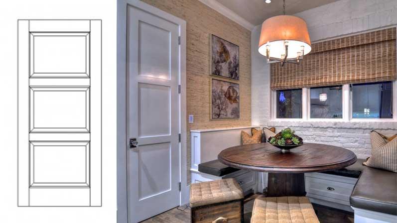 دربِ پانلی - انواع درب