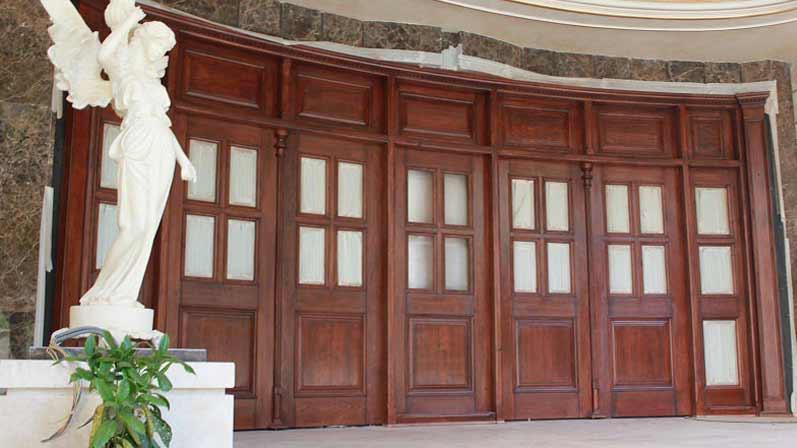 درب چوبی یا الواری - انواع درب
