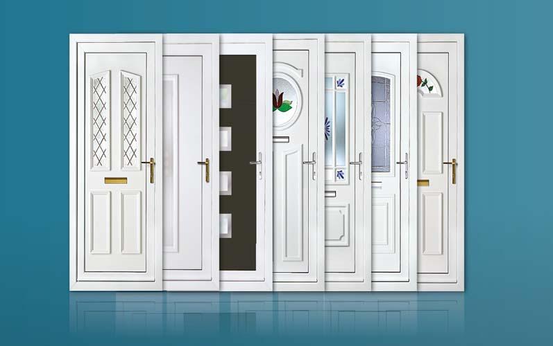 درب پی وی سی