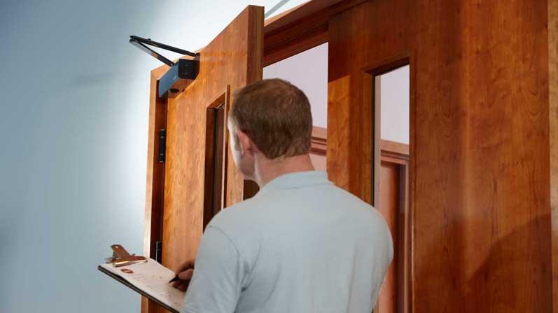نصب درب ضدحریق - درب ضد حریق