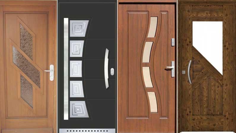 13 نوع درب چوبی که باید بشناسید - انواع درب چوبی