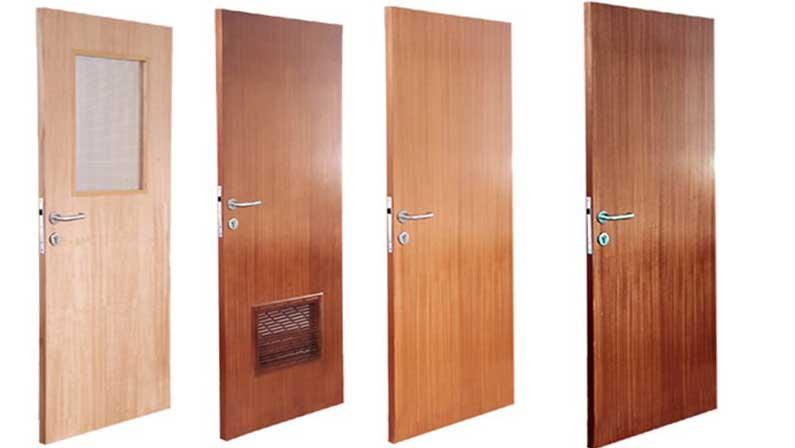 انواع دربهای چوبی