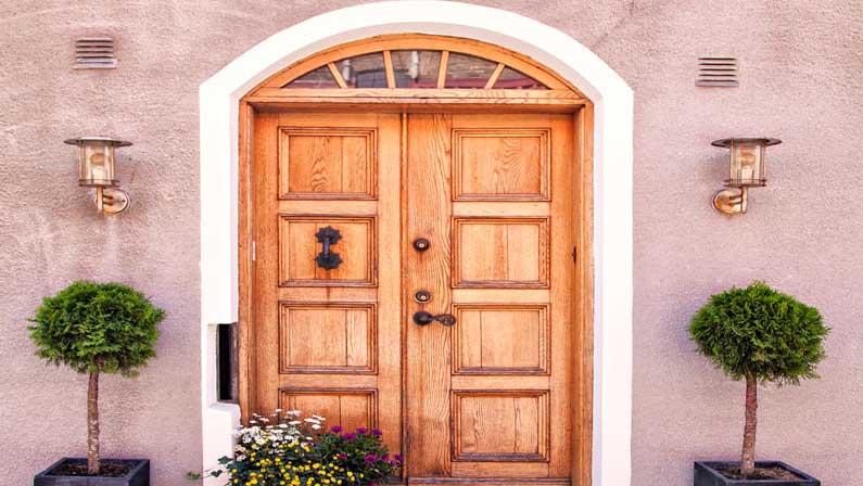 انواع هسته درب چوبی - انواع درب چوبی