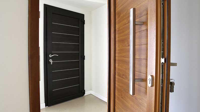 هسته چه تأثیری بر روی وزن دربهای چوبی میگذارد - انواع درب چوبی