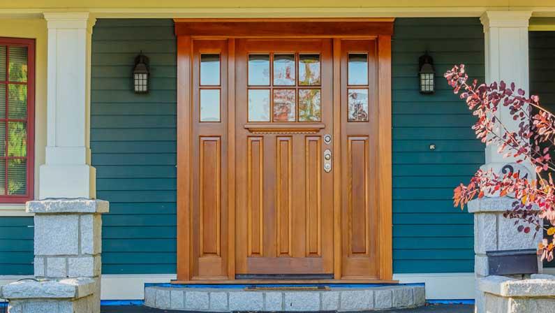 هسته چه تأثیری بر ماندگاری دربهای چوبی میگذارد - انواع درب چوبی