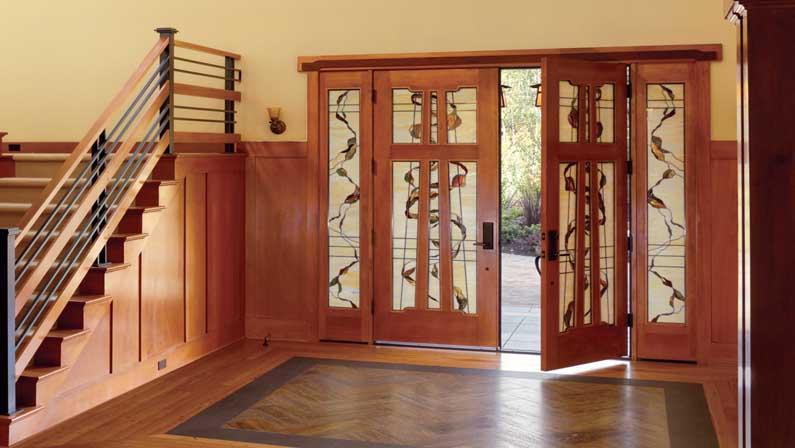 ویژگیهای اضافی درب چوبی - انواع درب چوبی
