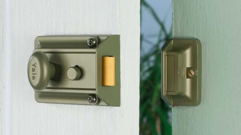 قفل شب بند استاندارد (بدون ددلاک) - قفل شب بند