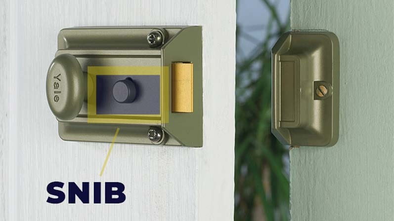 Snib - مهمترین قسمت یک قفل شب بند - قفل شب بند