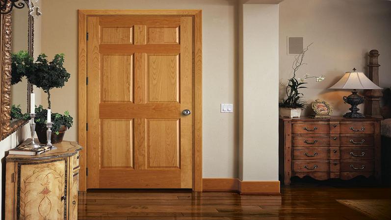 ترکیب وادارهای در هم فریم شده به همراه مهاربند جانبی - انواع درب ساختمانی