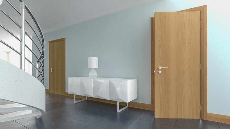 دربهای صاف و مسطح - انواع درب ساختمانی