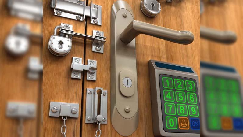 نوع قفل-راهنمای خرید درب ضد سرقت
