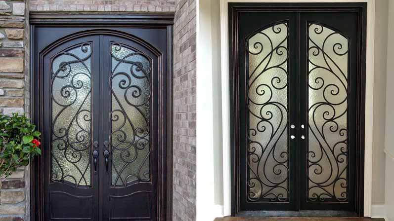 طرح درب منزل از نوع فلزی-طرح درب منزل