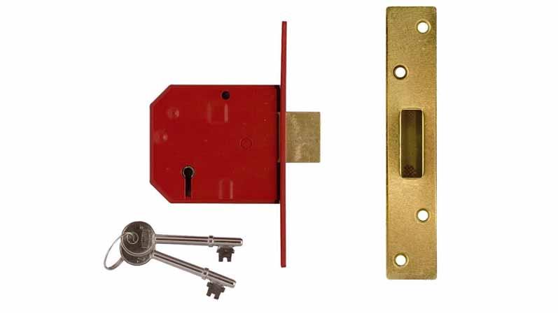 ۱. Mortice Deadlock پنج اهرمی-خرید قفل درب