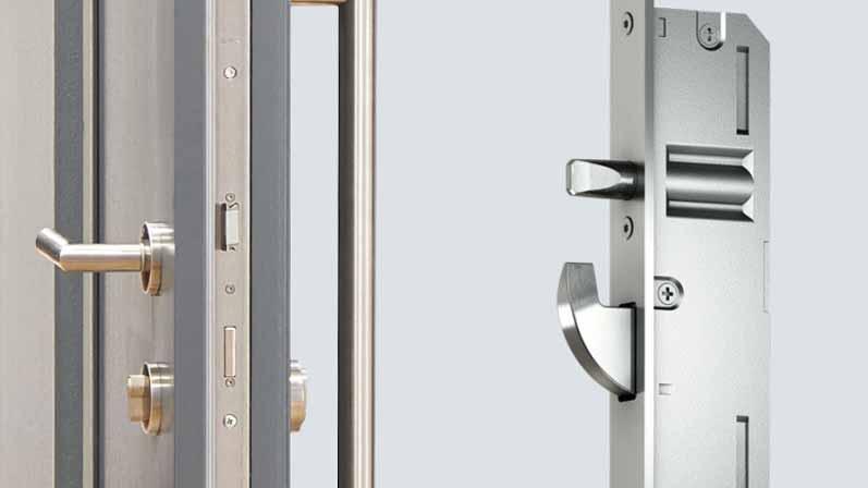 ۲. سیستم قفل چند نقطهای-خرید قفل درب
