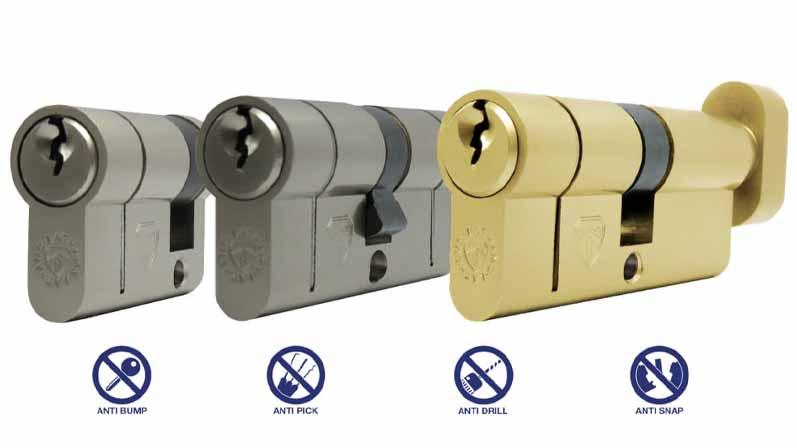 ۴. قفل سیلندر یورو-خرید قفل درب