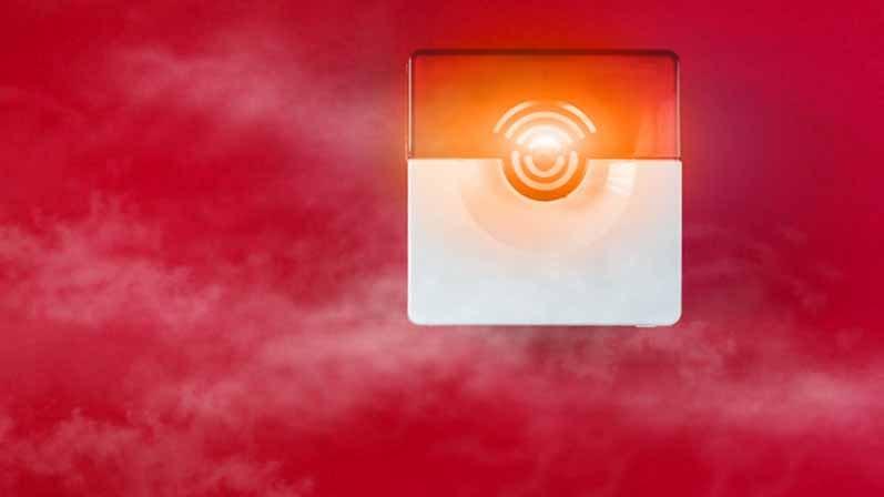 ۵. مشکلات آتش سوزی یا گاز را به شما اطلاع میدهد.-سیستم امنیتی منزل