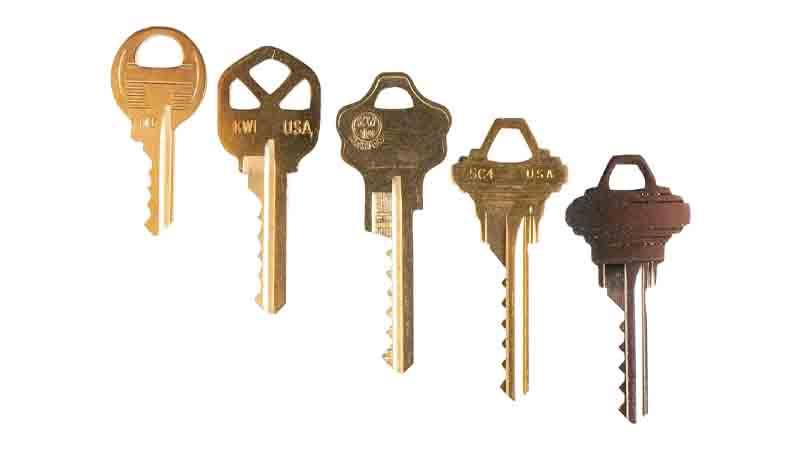 کلید بامپ (Bump key)-باز کردن درب